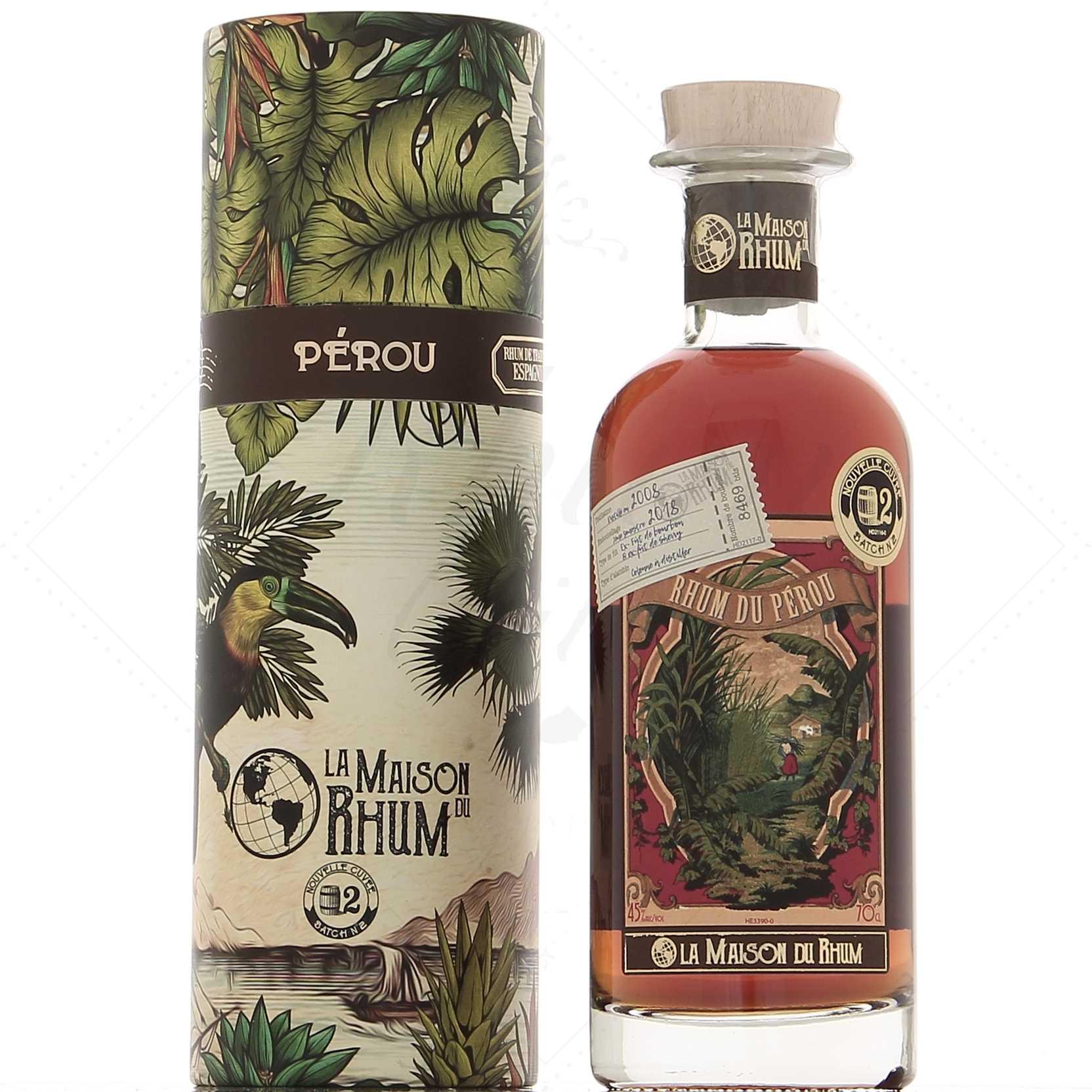 La Maison Du Rhum Perou Distillerie Millonario 10 10°