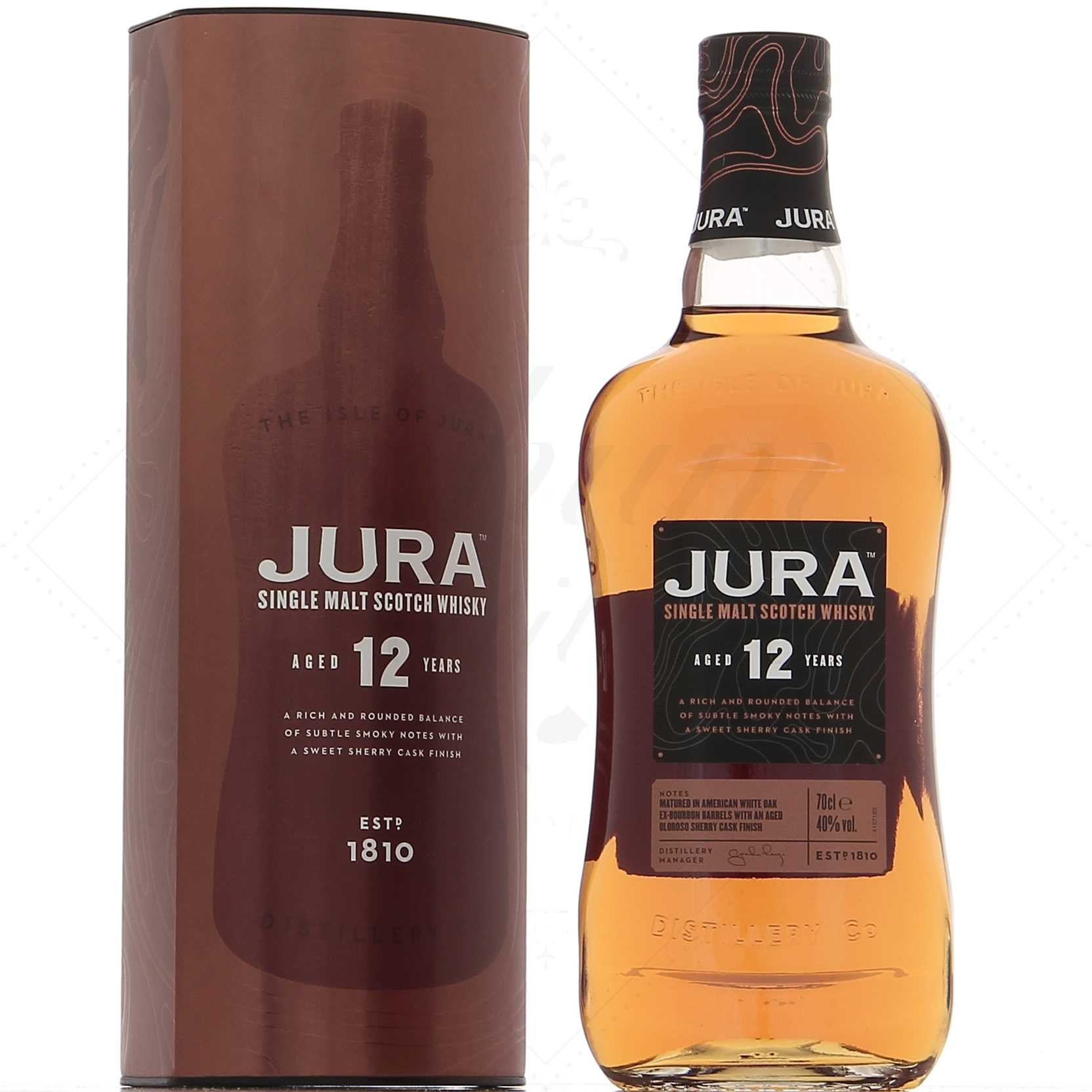 964d1991a325 Jura 12 ans 40° - Rhum Attitude